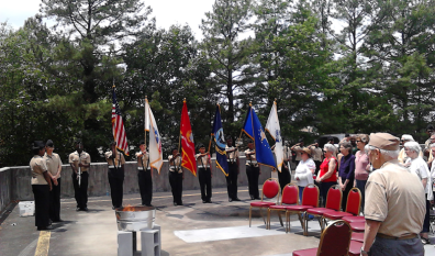 Mount Vernon Towers Has U.S. Flag Retirement Service and Ceremony on Memorial Day
