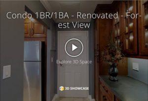 Renovated 1BR/1BA Virtual Tour