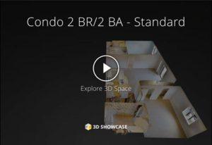 Standard 2BR/2BA Virtual Tour