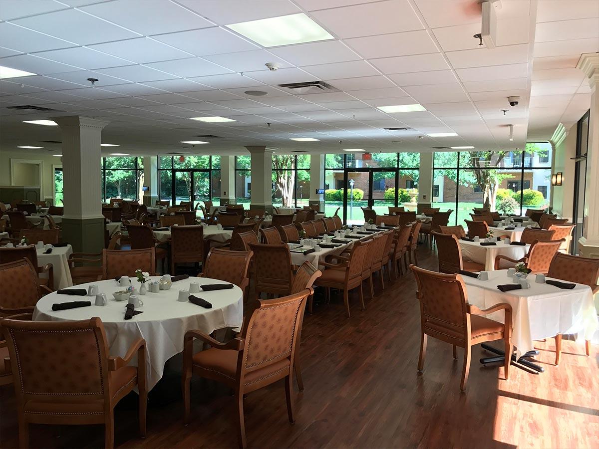 MVT dining room